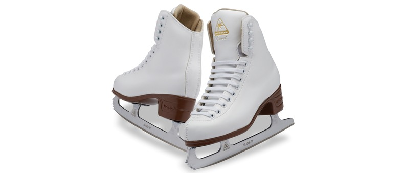 Jackson Excel Beginner Figure Skates Love Ice Skating